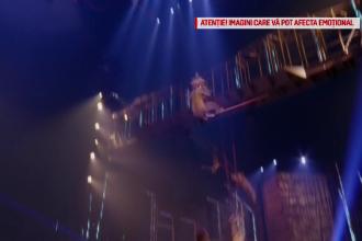 Ultimul mesaj al acrobatului care a murit sub ochii publicului în timpul unui show