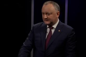 """Igor Dodon: """"Există riscul major ca dușmanul numărul 1 al R. Moldova să fie românii!"""""""