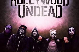 Trupa de rap metal HOLLYWOD UNDEAD va concerta în premieră în România