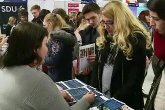 70 de universitați din Europa vor să îi convingă pe elevii români să le urmeze cursurile