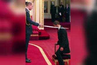 Prinţul William l-a făcut cavaler pe bateristul trupei Beatles