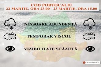 Măsuri luate în Bucureşti şi Ilfov, după anunţarea Codului Portocaliu. Ce instituţii se închid