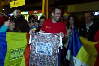 """Tibi Ușeriu, întâmpinat ca un campion la Cluj. """"Trecutul mi-a format psihicul pe care-l am acum"""""""