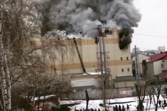 Incendiu la un mall din Rusia. Cel puțin patru morți și 15 răniți. VIDEO