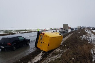 Accident grav în Buzău: o persoană a murit