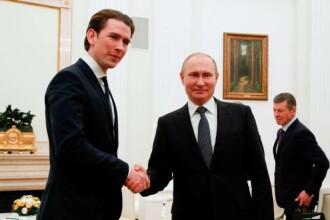 Austria a anunțat că nu va expulza diplomaţi ruşi