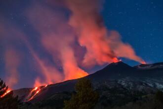 Muntele Etna, cel mai celebru vulcan european, alunecă în mare. 3 milioane de oameni, în pericol
