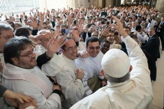 Slujbă religioasă la Vatican, înainte de Paște
