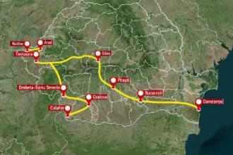 România, forțată să construiască autostrăzi. Două coridoare cheie ale NATO traversează țara noastră