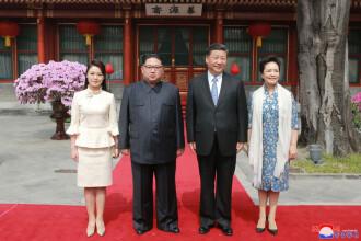 Summit China-Coreea de Nord: Kim şi Xi au discutat despre