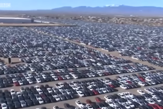 350.000 de mașini Volkswagen, răscumpărate. Cum arată Cimitirele Dieselgate din deșert