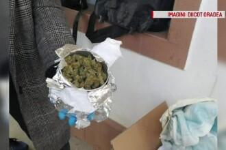 Flagrant pentru doi tineri din Bihor, care își comandau droguri prin firme de curierat