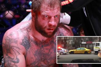 Luptător MMA, arestat după ce și-a condus beat Mercedesul auriu și a lovit două mașini