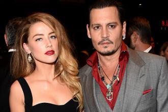 Johnny Depp susține că a fost bătut cu picioarele de fosta soție, Amber Heard