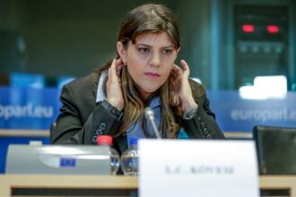 """Kovesi, detalii despre audierile din PE: """"Nu mi-a fost frică. Interviul a fost în engleză"""""""