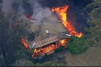 Mii de hectare distruse de incendii de vegetație în Australia. Oamenii, avertizați să evacueze