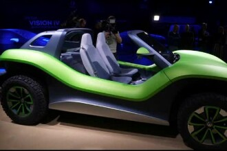 Salonul auto de la Geneva. Varianta electrică a faimosului vehicul VW Buggy