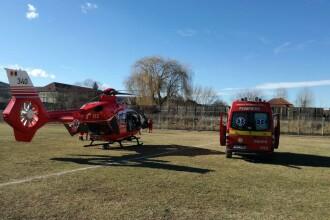 Accident grav cu 4 victime, în Giurgiu. A fost solicitat un elicopter SMURD