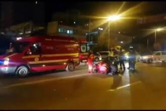 A traversat prin loc nepermis și a fost lovită de un șofer de 86 de ani, în Pitești