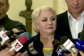 """Premierul Dăncilă: """"Nu am nicio divergenţă cu Dragnea. Am o bună relație"""""""