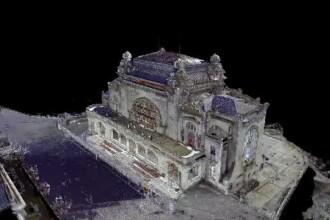 Cazinoul din Constanța, scanat 3D. Turiștii și localnicii dau bani ca să fie reabilitat