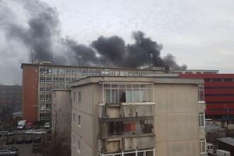 Incendiu la un depozit din sectorul 2 din București. Sistemul RO-Alert, activat