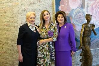 Imagini de la petrecerea de 8 martie a femeilor din PSD. Cum au apărut Dragnea și Irina