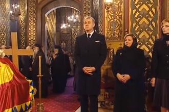 Rămăşiţele regelui Carol al-II-lea au fost înhumate sâmbătă la Curtea de Argeş