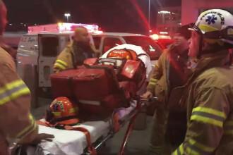 Panică la bordul unui avion care zbura spre New York. 30 de persoane, rănite. VIDEO