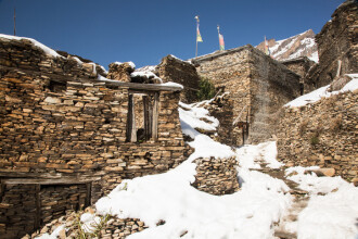 Două cadavre, găsite pe Himalaya, în zăpadă. Tragedia pe care o ascundeau
