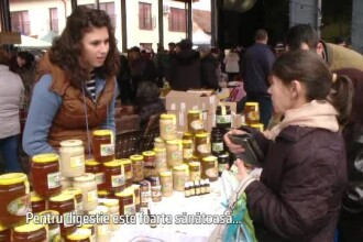 Producem miere în cantități record, dar nu ne permitem să o consumăm. Exportată în Japonia