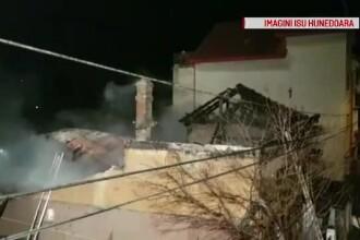 Incendiu în Deva. Pompierii au intervenit cu trei autospeciale