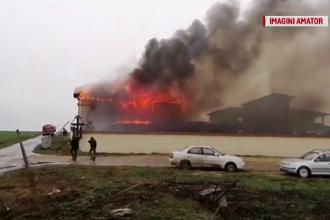 Incendiu puternic la o mănăstire. Călugării au ieșit în siguranță