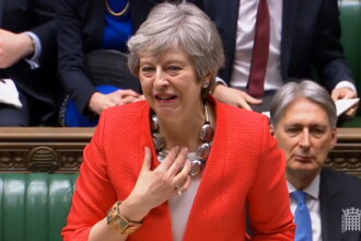 Acordul privind Brexitul a fost respins, pentru a doua oară, de Parlamentul britanic