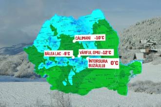Vremea extremelor. La Braşov a nins, iar la Timişoara oamenii au stat la soare