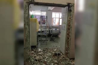 6 pacienţi, operaţi la Institutul Nasta. Faianţa din blocul operator nu a fost îndepărtată