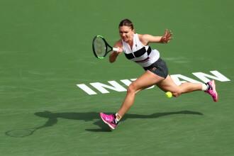 Simona Halep a fost eliminată în optimi la Indian Wells şi va pierde locul 2 WTA