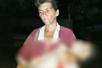 Imagini dramatice în Venezuela. O mamă merge pe străzi cu fiica sa moartă în brațe