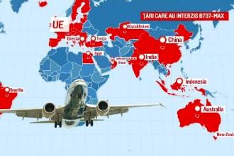 Suspendarea avioanelor Boeing 737 Max 8 și 9, pe termen nelimitat. Pierderi uriașe pe bursă