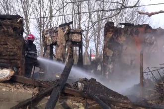 O bătrână a ars de vie în casă, în Bacău.