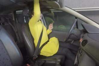 Experiment. Viteza la care un accident poate deveni fatal dacă pasagerii nu au centură