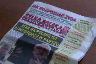 Deschidere de ziar cu sfaturi antisemite. Incidentul a declanșat un scandal uriaș