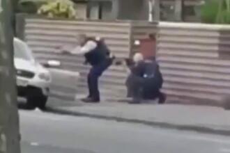 Momentul în care autorul atacului sângeros din Noua Zeelandă este prins de poliție. VIDEO