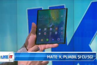 iLikeIT. Huawei Mate X, primul telefon pliabil cu 5G, adus în premieră în România