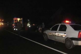 Pieton accidentat mortal pe DN2, la Focșani. Șoferul a fugit și a abandonat mașina