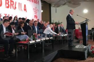 Ce a făcut un protestatar după ce a întrerupt o conferință a PSD Brăila