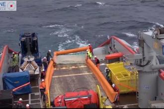 Amenințare în Atlantic. O pată de petrol se întinde pe 10 km, după scufundarea unui vas