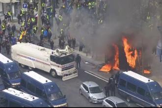 Măsuri dure pregătite de guvernul francez după manifestațiile Vestelor Galbene