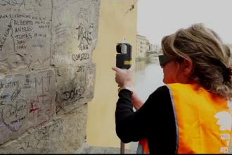 Metoda de ultimă generație pentru curățarea obiectivelor turistice de graffiti