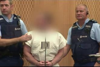 Gest sfidător al atacatorului din Noua Zeelandă. Ce cere din spatele gratiilor